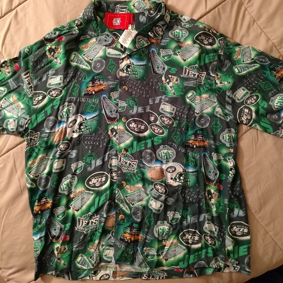 5e2fbb1d6 New York Jets collared shirt